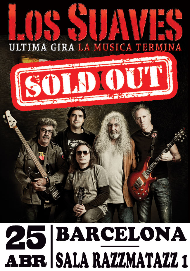 los-suaves-sold-out