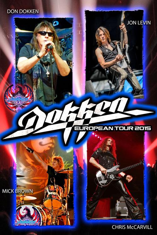 Fechas españolas de la gira de DOKKEN