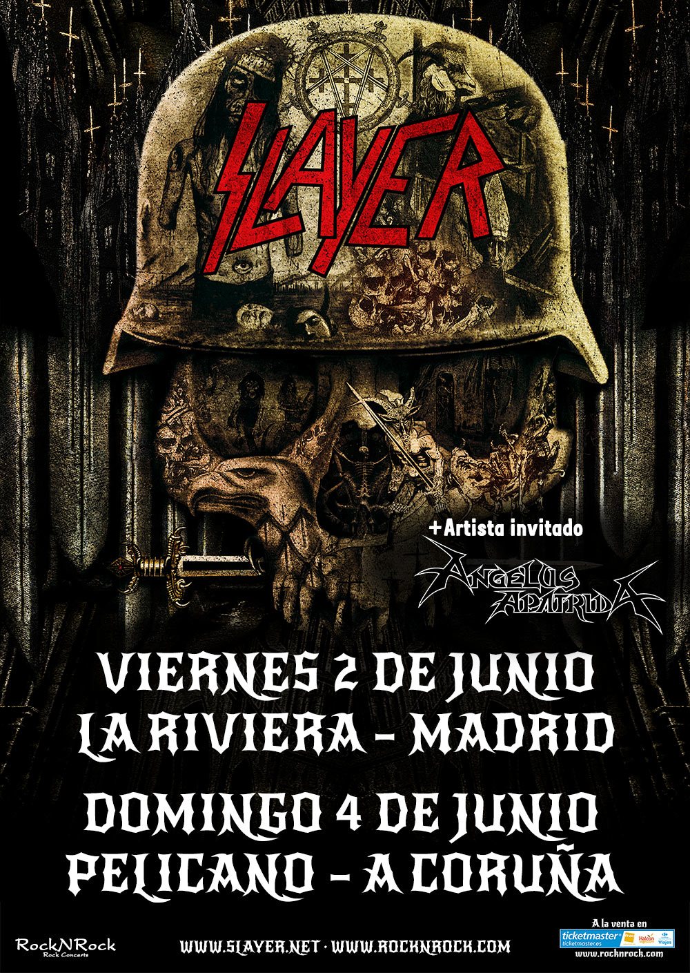 Cartel Slayer + Angelus Apatrida