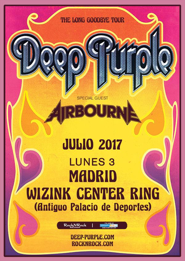 Deep Purple madrid