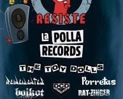 cartel MADRID RESISTE 2020